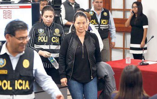 Fiscal de Perú solicitó detención preventiva para Keiko Fujimori