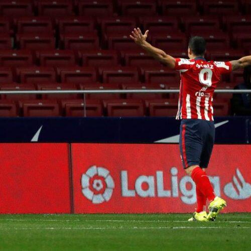 Luis Suárez suma 500 goles, pero sigue sin alcanzar a Messi en la Liga