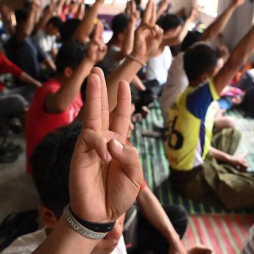 Más de 1.000 ciudadanos de Myanmar buscan refugio en la India