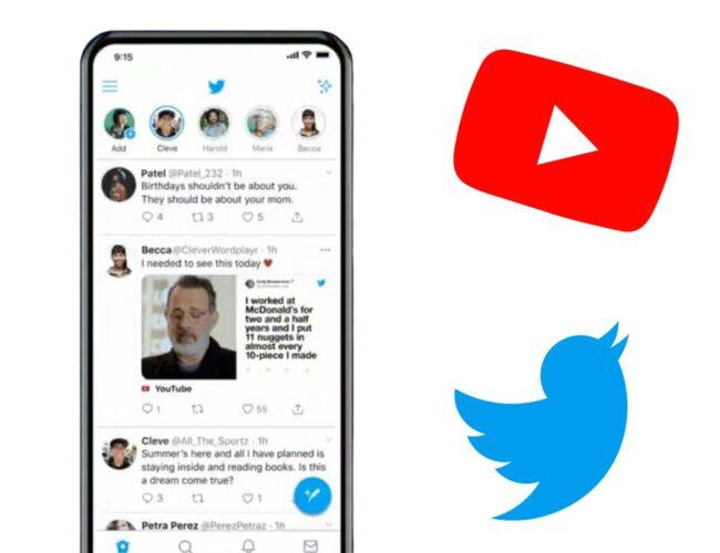 Twitter habilitará la reproducción de video de YouTube sin salir de la aplicación