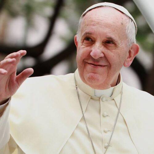 """El papa pidió este jueves una vacunación """"más solidaria"""""""