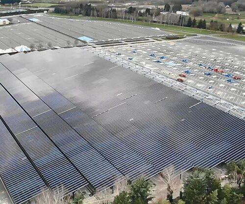 Disneyland Paris está construyendo una granja solar equivalente a 24 campos de fútbol