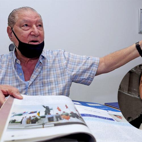 Falleció el padre de Alex Saab por complicaciones con el covid-19
