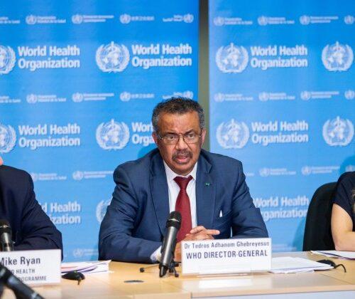 """OMS presentó plan para un mundo post pandemia más """"justo y sano"""""""