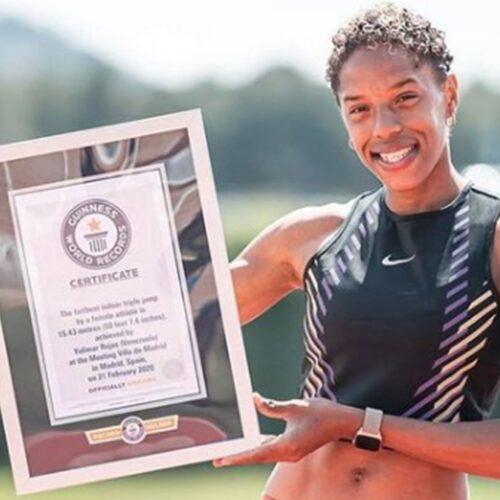 ¡Orgullo criollo! Yulimar Rojas reconocida con el Guinness World Records