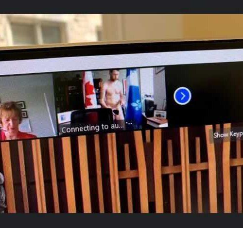 Diputado canadiense aparece desnudo en una sesión virtual del Parlamento