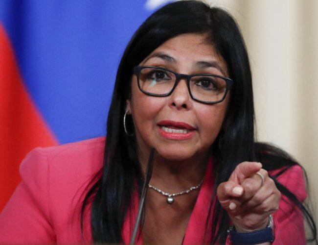 Delcy Rodríguez anunció que Venezuela consignó 50% de anticipo al mecanismo Covax