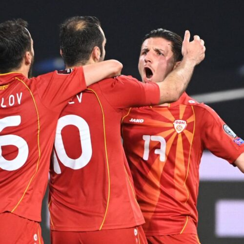 Macedonia sorprende a los alemanes y ganan 2-1 a domicilio