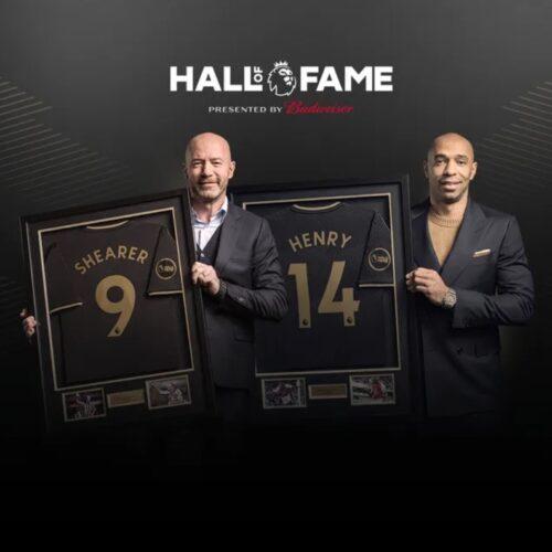 Thierry Henry y Alan Shearer ingresaron al Salón de la Fama de la Premier League