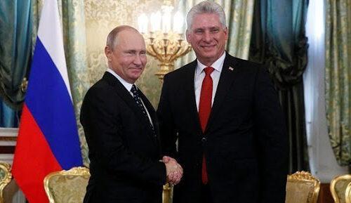 """Rusia y Cuba buscan estrechar su """"asociación estratégica"""" con liderazgo de Díaz-Canel"""