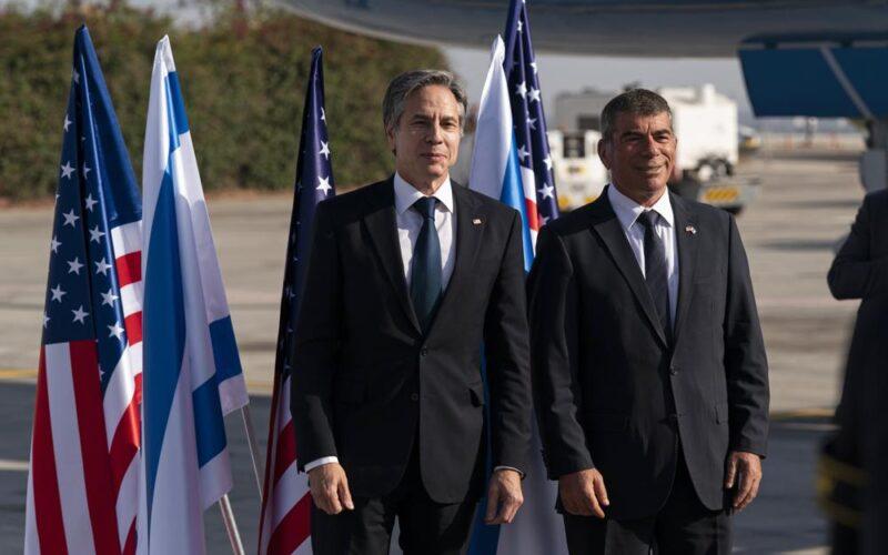 Blinken dice que EEUU ayudará en Gaza sin cooperar con Hamas