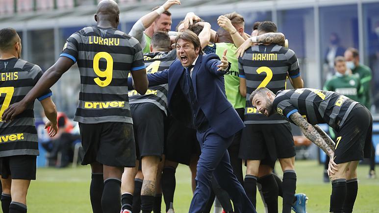 El Inter de Conte se coronó campeón de la Serie A
