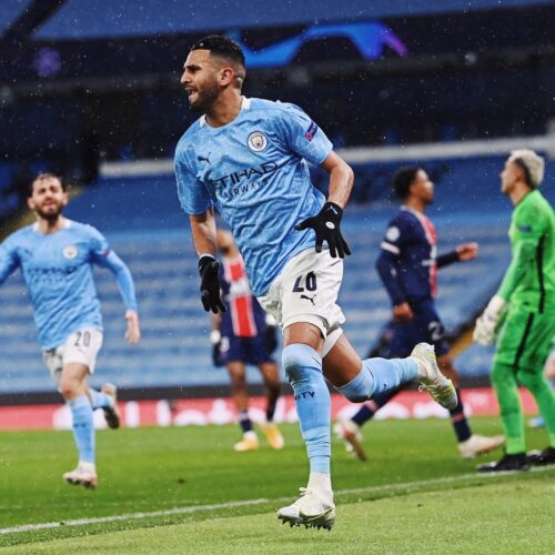 Manchester City en camino a su primera final de la Champions League
