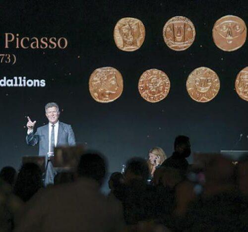 Subasta benéfica con obras de Picasso, Dali y Mandela recauda €8,2 millones