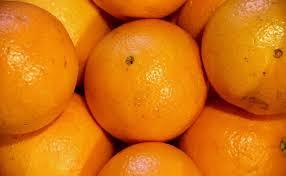 Las manchas de la naranja