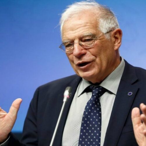 """Josep Borrell: """"es una mayor garantía para la oposición que estemos presentes auditando el sistema"""""""