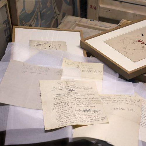 Subastan en Francia primer manuscrito de Federico García Lorca