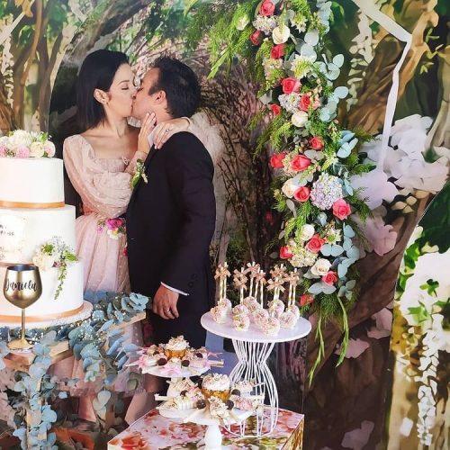 Daniela Alvarado y José Manuel Suárez se casaron en privado