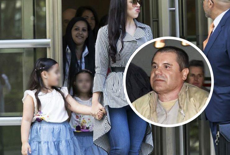 Hijas del Chapo Guzmán no podrán ver a su madre hasta que cumplan 20 años