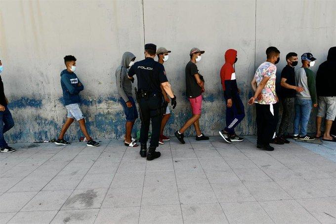 España reportó hasta mayo un aumento de 44% en la inmigración ilegal