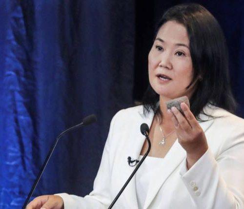 Keiko Fujimori reconoce la victoria de Pedro Castillo