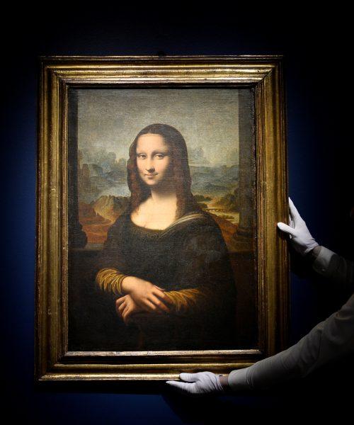 Réplica de la Mona Lisa se encuentra en subasta por 200 mil euros