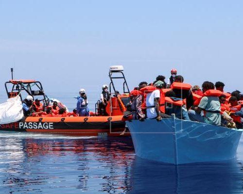 Médicos sin Fronteras rescató a 410 migrantes en el Mediterráneo