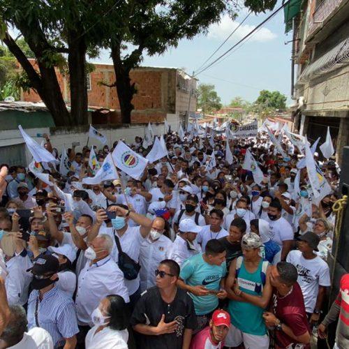 Bernabé Gutiérrez: Acción Democrática está en la calle y volveremos a gobernar para todos los venezolanos