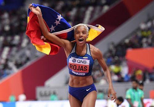 Yulimar Rojas superó este domingo el récord de longitud para Venezuela