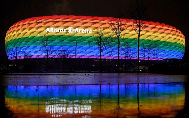 La UEFA prohíbe que el estadio de Múnich se ilumine con colores Lgbt