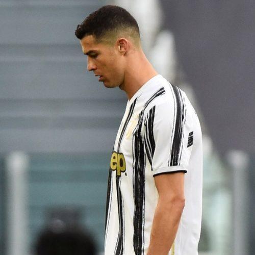 Cristiano Ronaldo estuvo de suplente en el primer partido de la Juventus