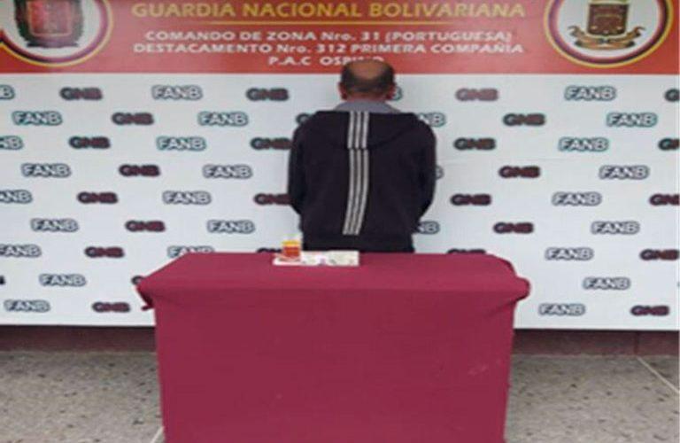 GNB detuvo a Ramón Martínez exgobernador del estado Sucre