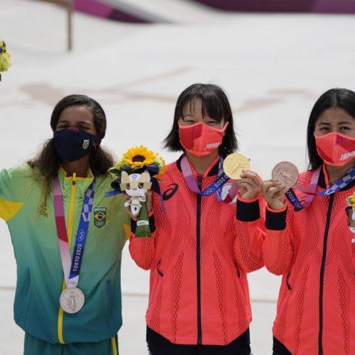 Tokio2020: Skate femenino deja el podio más joven de los JJOO