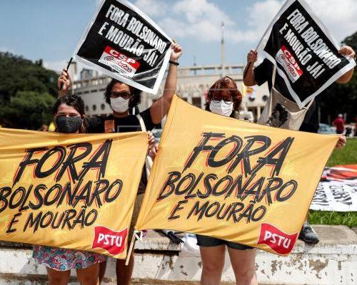 Brasil: Habitantes vuelven a las calles para exigir destitución de Bolsonaro