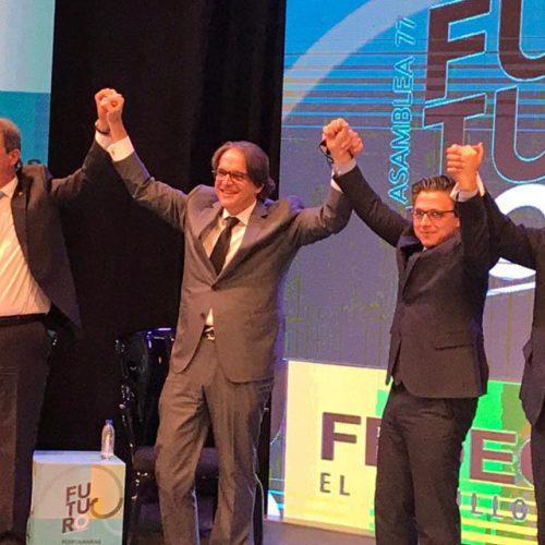 """Carlos Fernández: """"El acercamiento no es un objetivo, es un medio. El objetivo es muy superior"""""""
