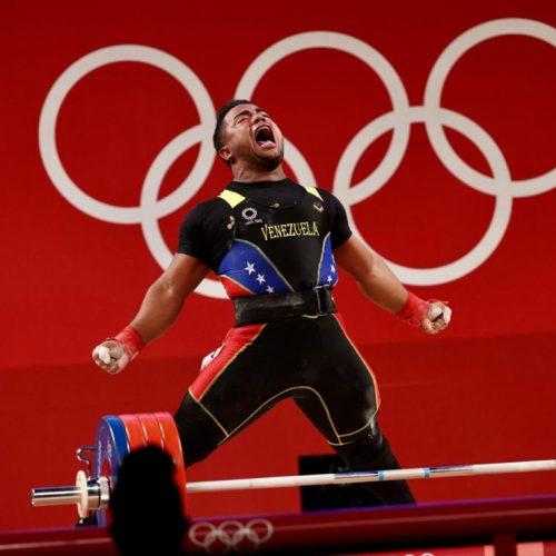 Venezolano Keydomar Vallenilla consiguió la segunda medalla de plata en Tokio 2020