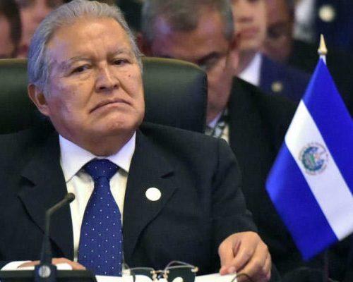 El Salvador: Ordenan detención del expresidente Salvador Sánchez Cerén