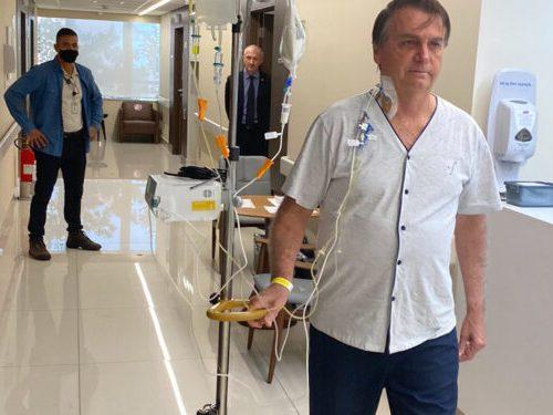 Jair Bolsonaro evoluciona satisfactoriamente y podrá recibir el alta en los próximos días