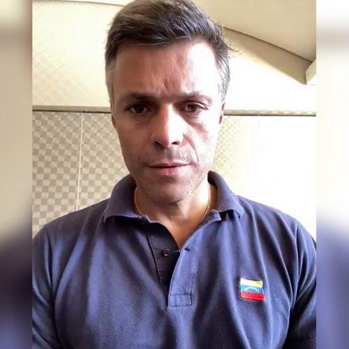 Leopoldo López advirtió que cualquier decisión de extradición a Venezuela supone un riesgo para su vida