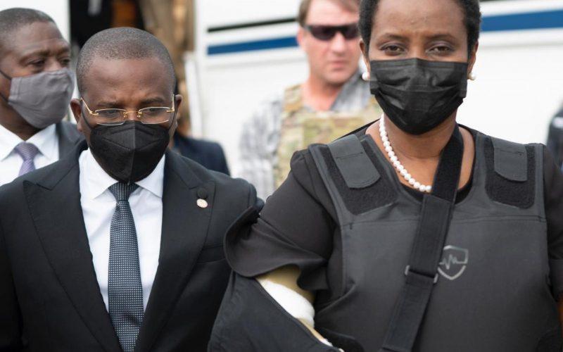 Esposa del presidente de Haití reveló cómo sobrevivió al ataque