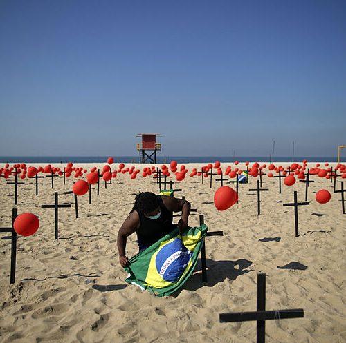 Brasil: El país pasa de las 540 mil muertes por Covid-19 y los 19,3 millones de casos