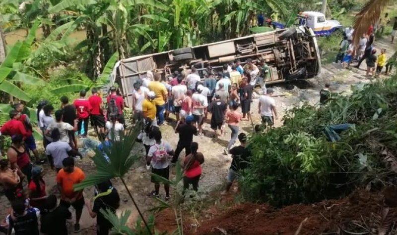Grave accidente dejó un muerto y varios heridos de un equipo de fútbol en Antioquía