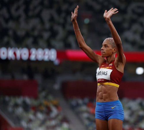 Yulimar Rojas se coronó con medalla de oro y doble récord en Tokio2020
