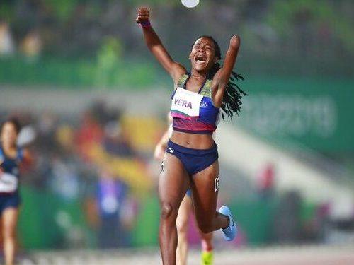 Criolla Lisbeli Vera avanzó a la final de los 400 metros T47n en Tokio 2020