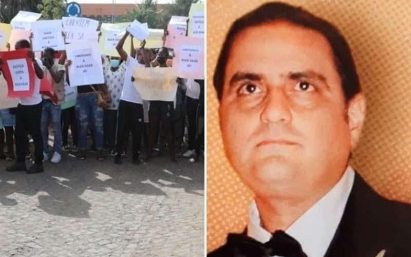 Protestaron en Cabo Verde mientras transcurría audiencia de Álex Saab