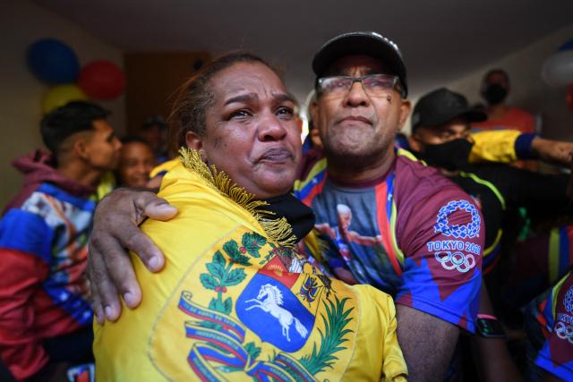 Madre de Yulimar Rojas festejó entre lágrimas y orgullo: «Yo sabía que ella iba por ese récord»