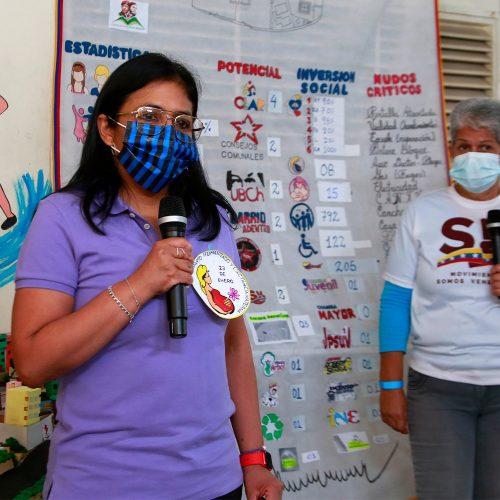 Delcy Rodríguez afirmó que Venezuela va a pasar a una etapa de expansión de vacunación