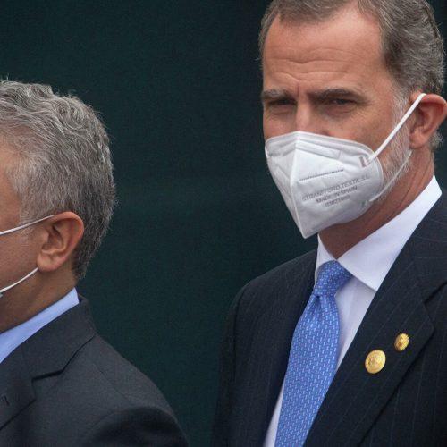 Presidente de Colombia Iván Duque dio inicio a su visita oficial a España