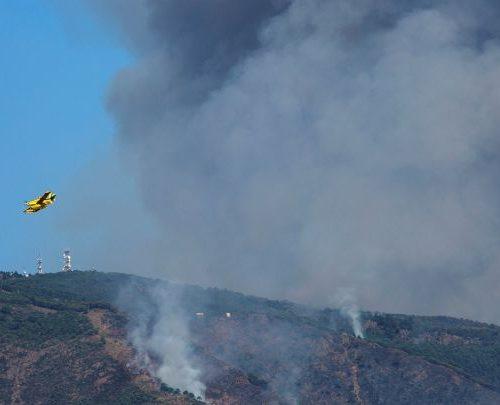 Controlan incendio en Málaga que arrasó con más de 9.000 hectáreas