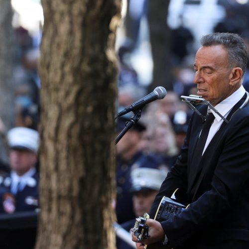 """Bruce Springsteen interpretó """"I'll see you in my dreams"""" en la ceremonia de conmemoración del 11S"""